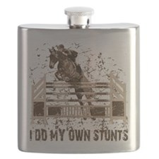 hunter jumper horse Flask