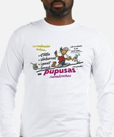 pupusas Long Sleeve T-Shirt