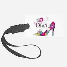 Shoe Diva Luggage Tag