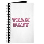 Team Baby in Pink and Black Journal