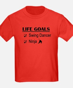 Swing Dancer Ninja Life Goals T