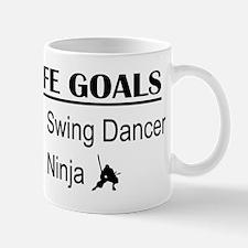 Swing Dancer Ninja Life Goals Mug
