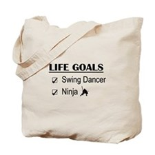 Swing Dancer Ninja Life Goals Tote Bag