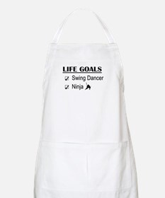Swing Dancer Ninja Life Goals Apron