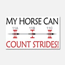 horse can count Car Magnet 20 x 12