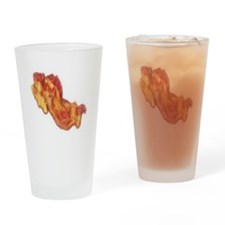 Bacon Strip Drinking Glass