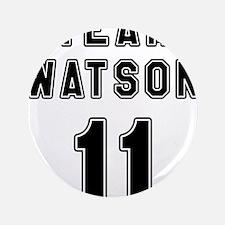 """Team Watson #11 3.5"""" Button"""