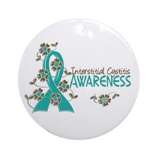 Awareness 6 Interstitial Cystitis Ornament (Round)