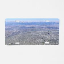 Anaheim City Map Aluminum License Plate