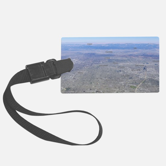 Anaheim City Map Luggage Tag