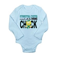 Messed With Wrong Chic Long Sleeve Infant Bodysuit