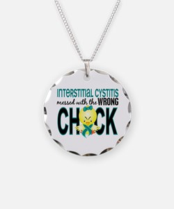 Messed With Wrong Chick 1 IC Necklace