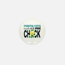 Messed With Wrong Chick 1 IC Mini Button (10 pack)