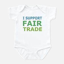 I Support Fair Trade Infant Bodysuit
