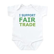 I Support Fair Trade Onesie