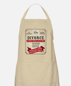 Medicinal Divorce Label Apron