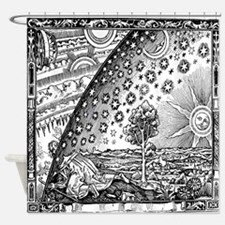 Ancient Cosmology Shower Curtain