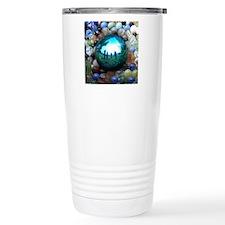Magic Blue Marble Travel Mug