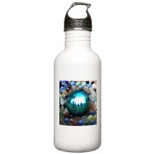 Magic Blue Marble Water Bottle