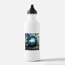 Magic Blue Marble Water Bottle