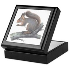 Vintage Squirrel Keepsake Box