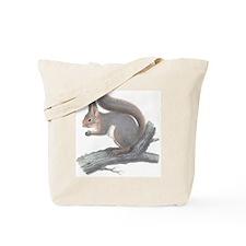 Vintage Squirrel Tote Bag
