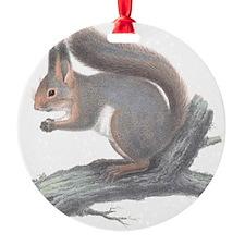 Vintage Squirrel Ornament