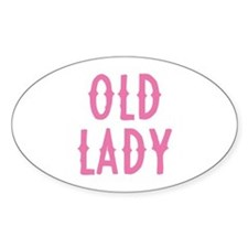 Old Lady Decal