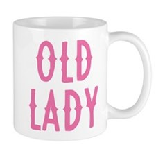 Old Lady Small Mugs