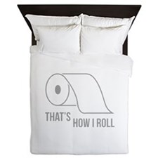 That's How I Roll Queen Duvet