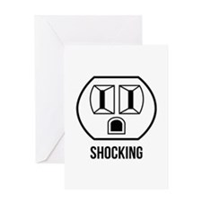 Shocking Greeting Card