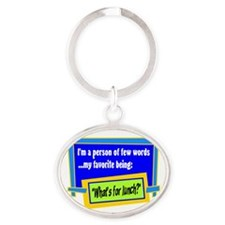 Whats For Lunch? Keychains