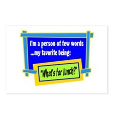 Whats For Lunch? Postcards (Package of 8)