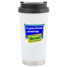 Whats For Lunch? Travel Mug