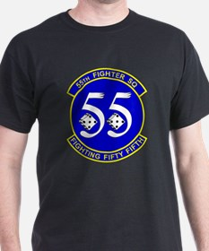 USAF 55th Fighter Squadron (55 FS) T-Shirt