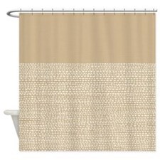 Riverside Sand Shower Curtain