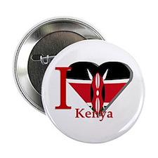 """I love Kenya 2.25"""" Button (10 pack)"""