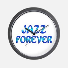 Jazz Forever Wall Clock
