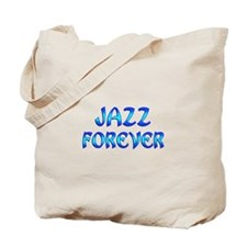 Jazz Forever Tote Bag