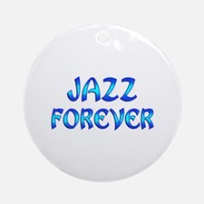 Jazz Forever Ornament (Round)