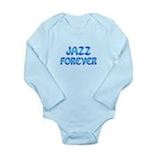 Jazz Forever Long Sleeve Infant Bodysuit