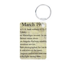 March 19th Keychains