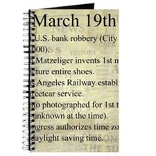 March 19th Journal