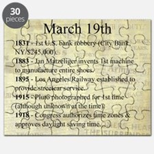 March 19th Puzzle