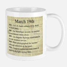 March 19th Mugs