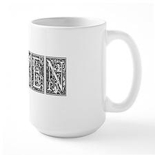 Karen First Name Vintage Mug