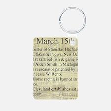 March 15th Keychains