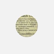 March 15th Mini Button
