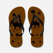 Equine Theme Flip Flops #6111