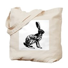 Jackrabbit (illustration) Tote Bag
